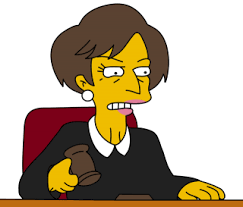 simpsons judge